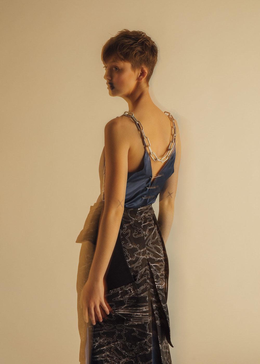 Maiyet dress,Dries Van Noten skirt,Maje shoes