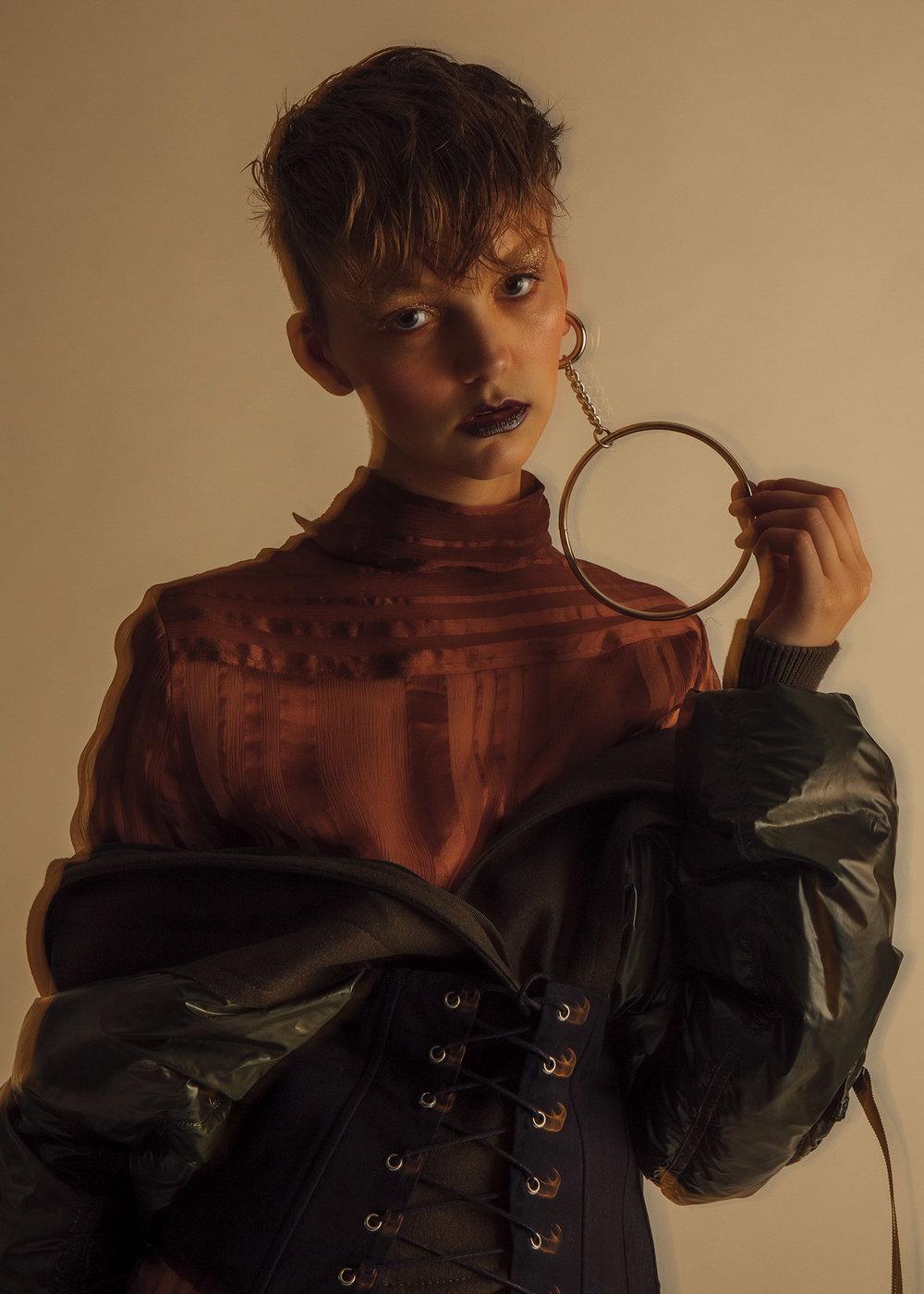 Sacai Luckjacket, Stella McCartney blouse
