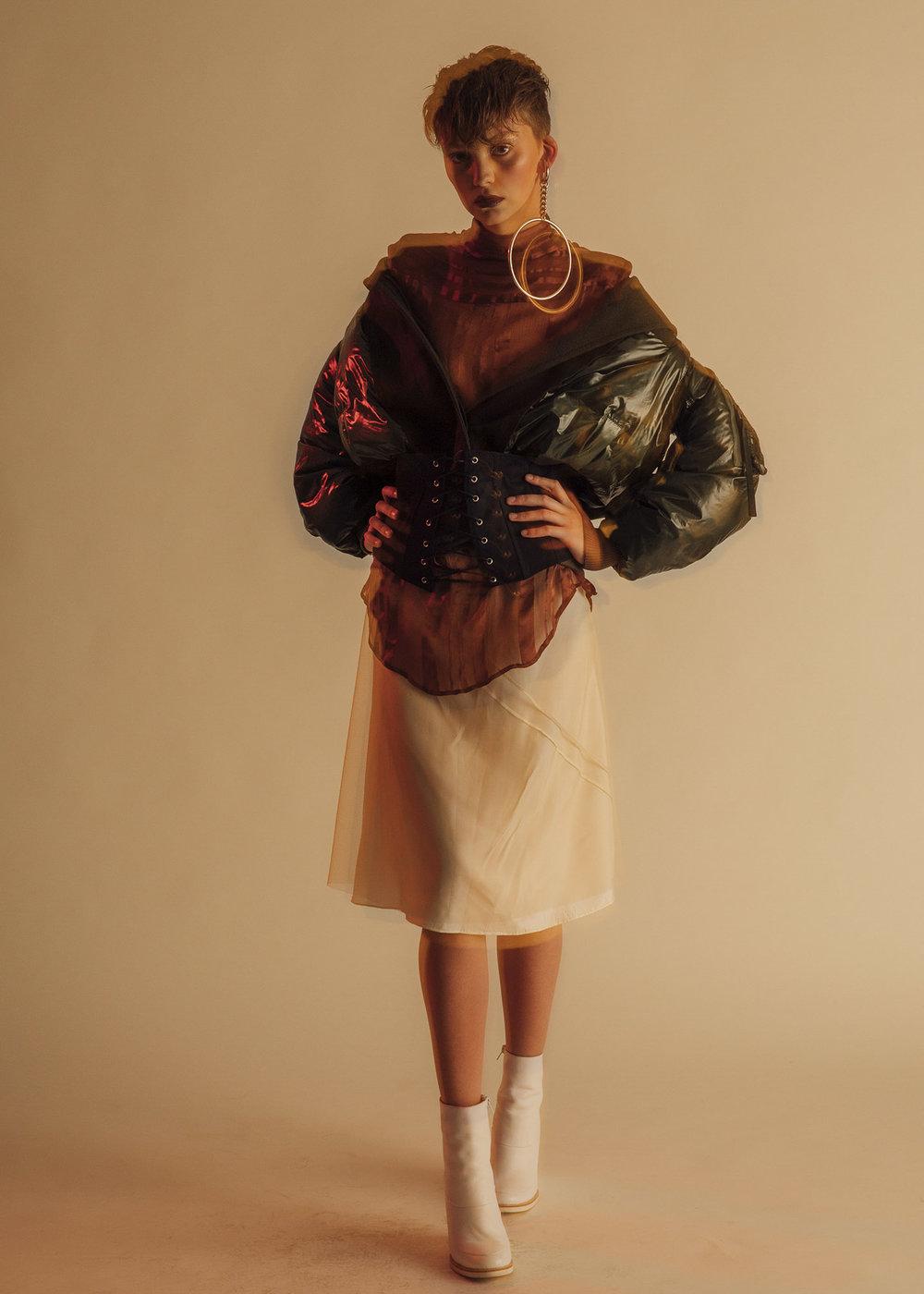 Marni skirt,Cres. E Dim.corset,Laurence Dacade shoes
