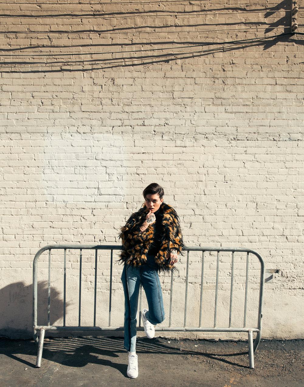 Dries Van Noten,Wolford Turtleneck,Rag and Bone Jeans,Vans Sneakers