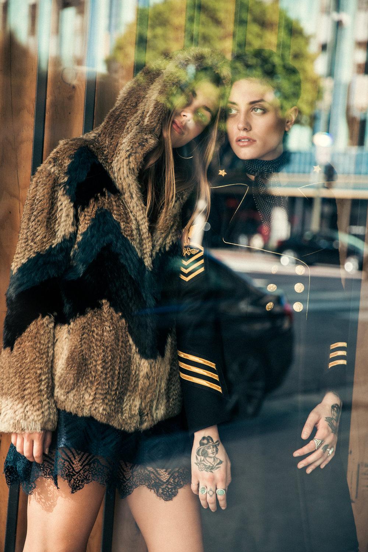 Pam & Gela Coat,Stoned Immaculate Bomber, Michelle Mason Dress