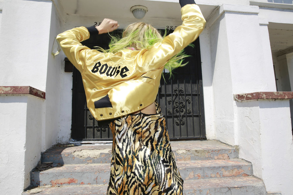 Bomber jacket  @catherinefulmercollection