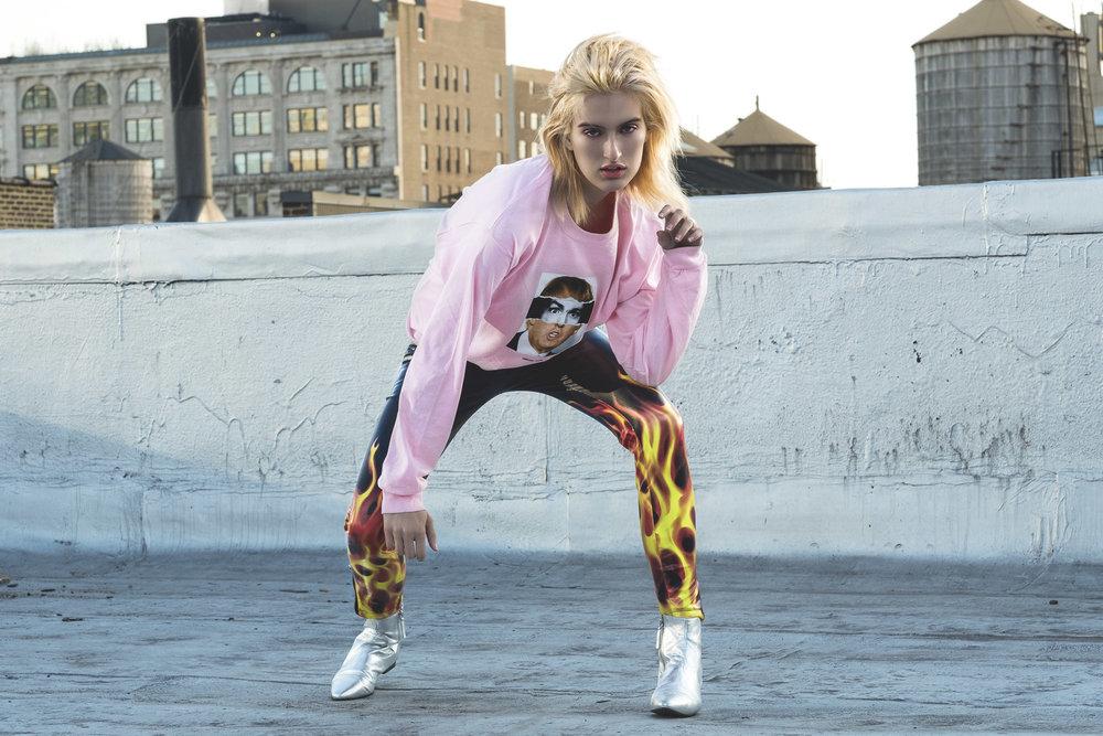 Dollskill Pants, Zara Shoes