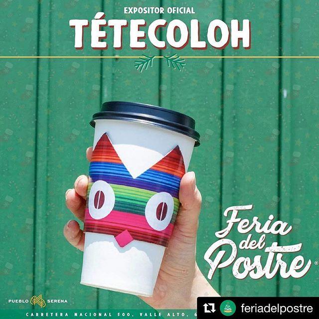 Los esperamos este 9 y 10 de diciembre en Pueblo Serena 💗🦉☕️✨✨ // #Repost @feriadelpostre (@get_repost) ・・・ Tenemos el honor de presentarles a uno de nuestros expositores claves de la Feria del Postre 2017! @tetecolohcafe ¿A quién no se le antoja un cafecito con el postre? ☕️🍰 #feriadelpostre