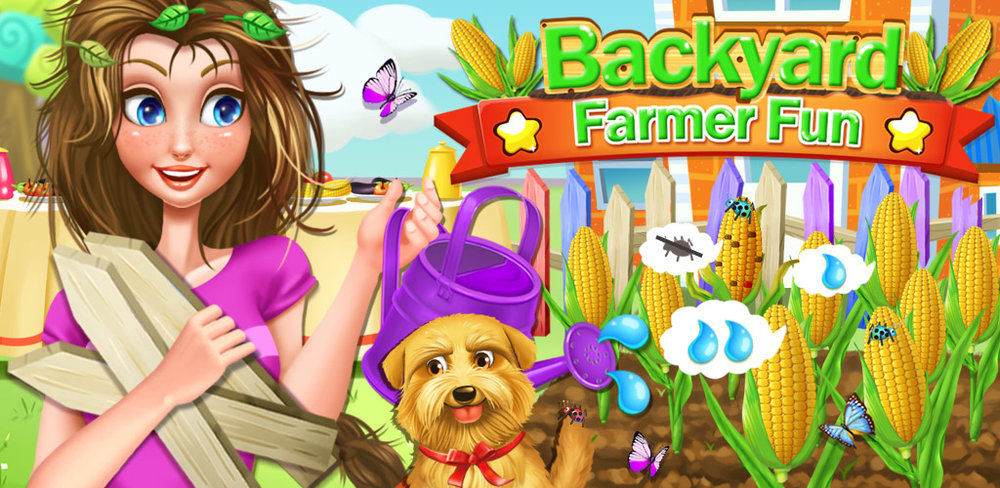 DREAM HOUSE - BACKYARD FARMING  Farming isn't all about overalls, big fields, and huge machines. It can be tons of fun that you do in your own backyard! In My Backyard Farming Adventure, you get to have your own mini farm right outside your back door!