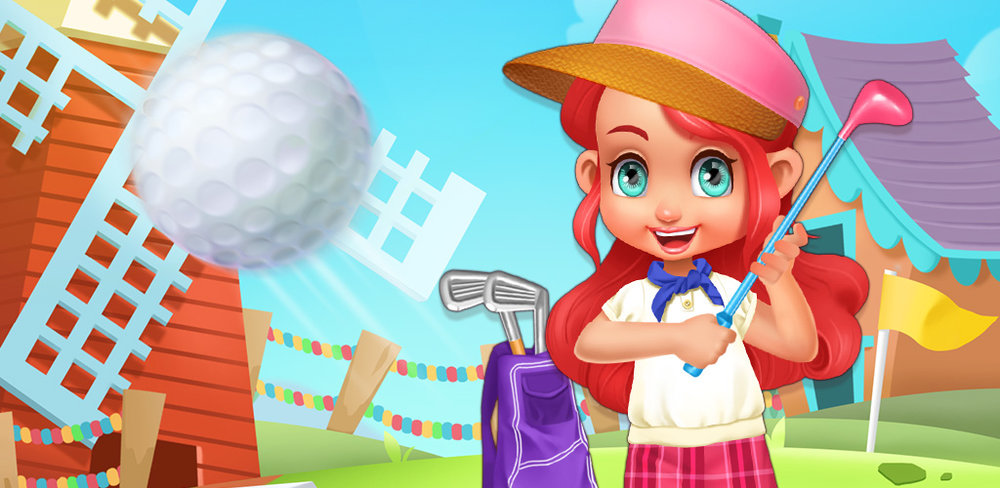 PUTT PUTT CLUB: MINI GOLF KIDS  Show of your junior golfer skills by having a fun day out with your family. A warm sunny day like today is perfect for a mini golf adventure in the outdoors. Grab your family and friends and let's go! You can show them who the real pro is at this sport!