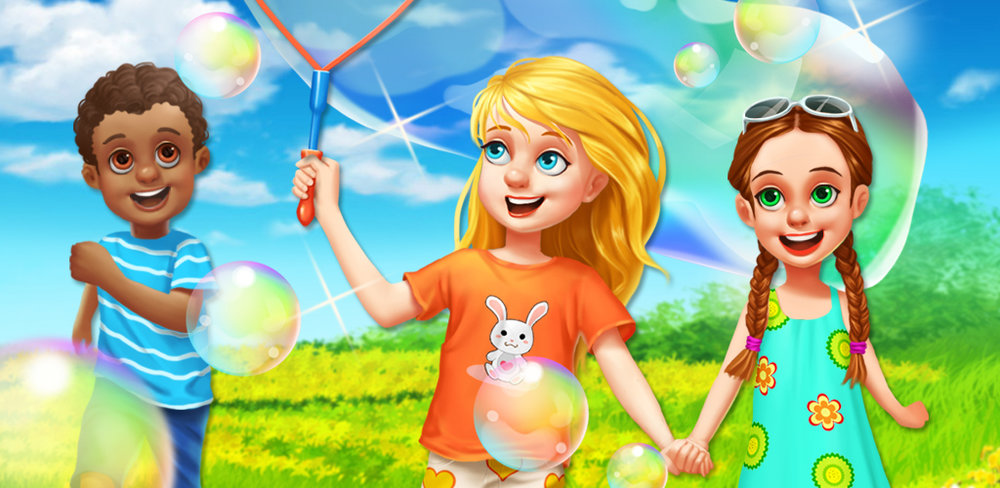 SUMMER SALON - GIRLS DRESS UP  Summer is every kid's favorite season! Come to our Kids Summer Salon, give yourself a brand new hair style! You may try all the most popular hairstyles here! Find out which style is your favorite, and pick a cute summer outfit to go with it!