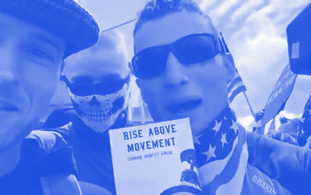 Members of the L.A. area based  Rise Above Movement.