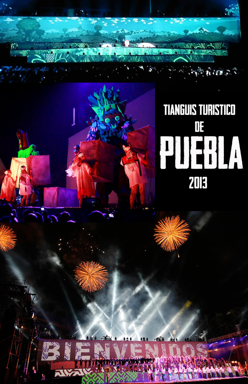 FUNDADA POR ANGELES EN TIERRA DE GIGANTES  Production inspired in the founding of Puebla, Mexico. Premier: March 18th, 2013 Direction: Hiram Marina, Production: COCOLAB / CREA Location: Plaza de La Victoria / Los Fuertes de Puebla 7 Representations with more than 85,000 spectators   https://vimeo.com/65859909