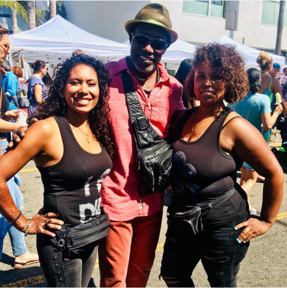 Wesley Snipes at the Abbott Kinney Festival in Venice Beach