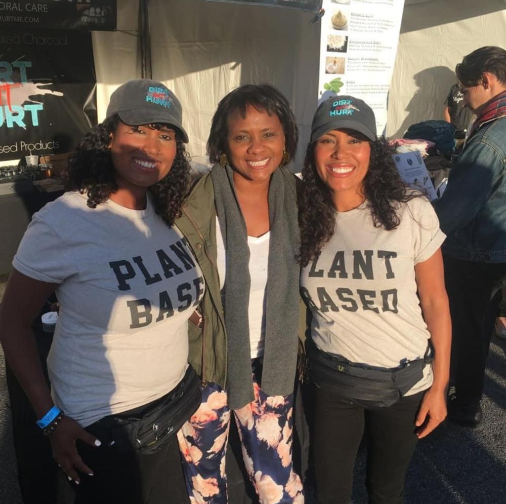 Karen Malina White @ Vegan Street Fair in North Hollywood