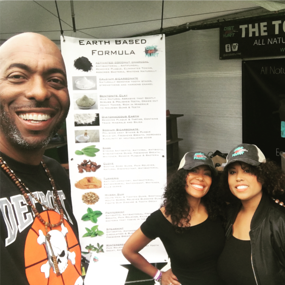 John Salley at Eat, Drink, Vegan @ The Rose Bowl in Pasadena