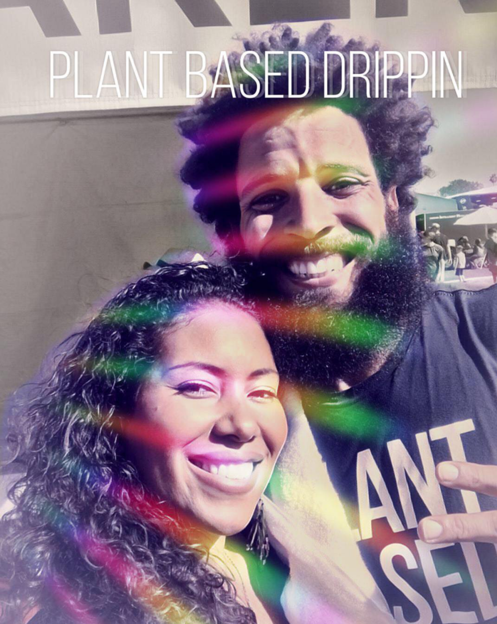 Plant Based Drippin with Official Grey Music at the SoCal Veg Fest in OC