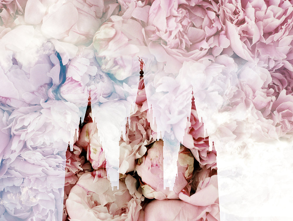 Salt Lake LDS Temple + Pink Peonies 3.jpg