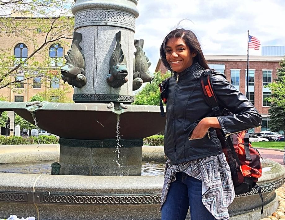 Image: Dominica Reid/Caleb Morris    This photo was taken on our trip to Boston.