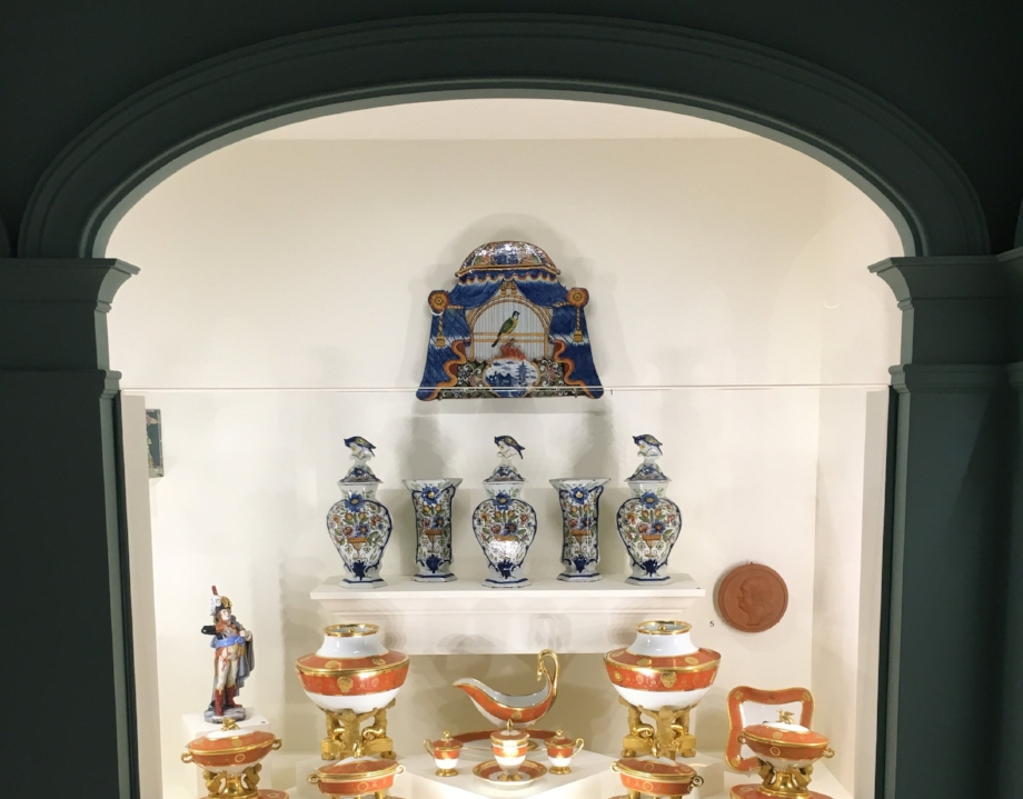 Image: Dominica Reid    The Swan House is home to a beautiful collection of fine China from the 17th and 18th hundreds