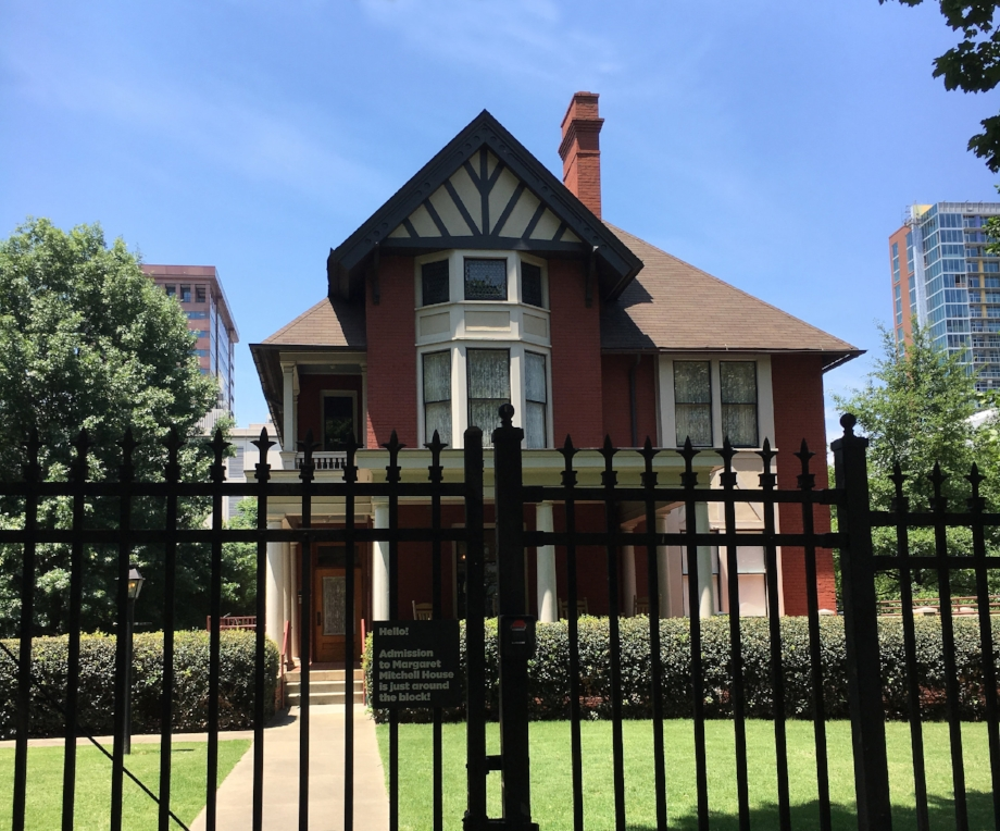 Image: Dominica Reid      The Margaret Mitchell House in Midtown Atlanta