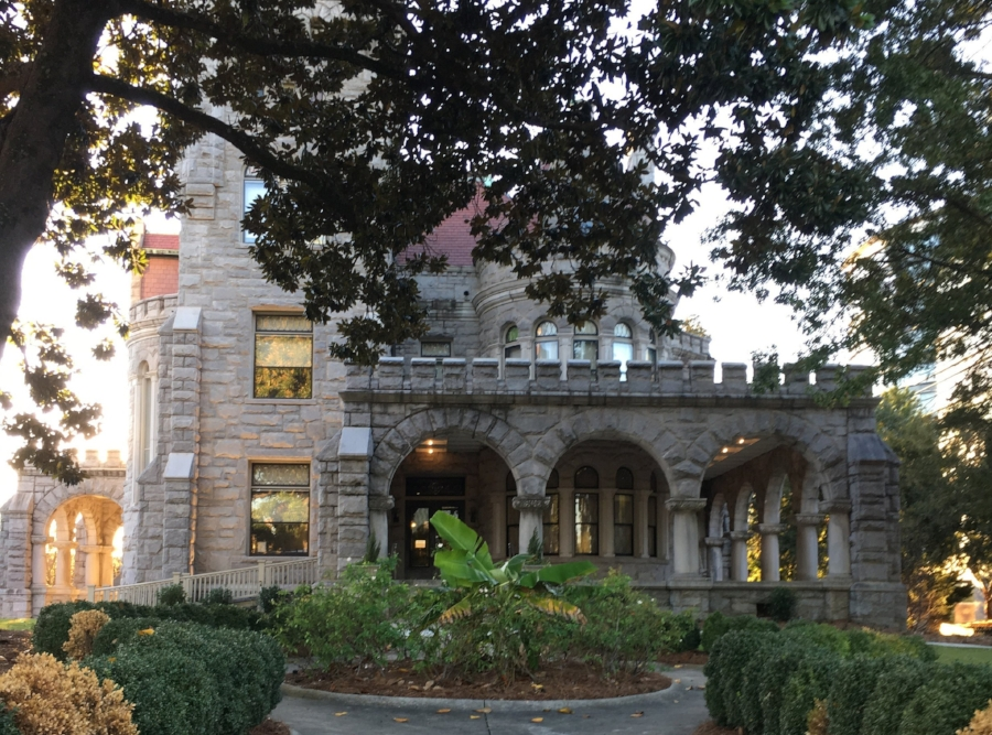 Rhodes Hall is a beautiful castle in the heart of Midtown.