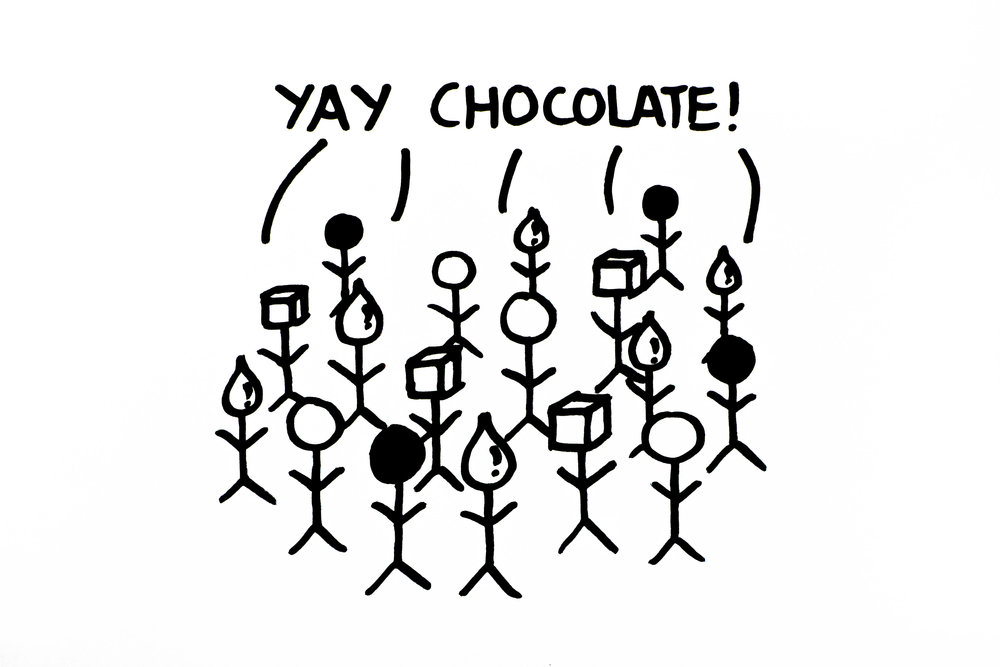 4 - Chocolate again!