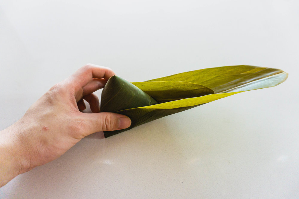 How to wrap a zongzi - part 8