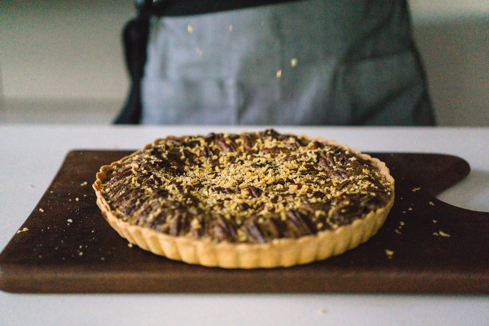 Gula Melaka Pecan Pie