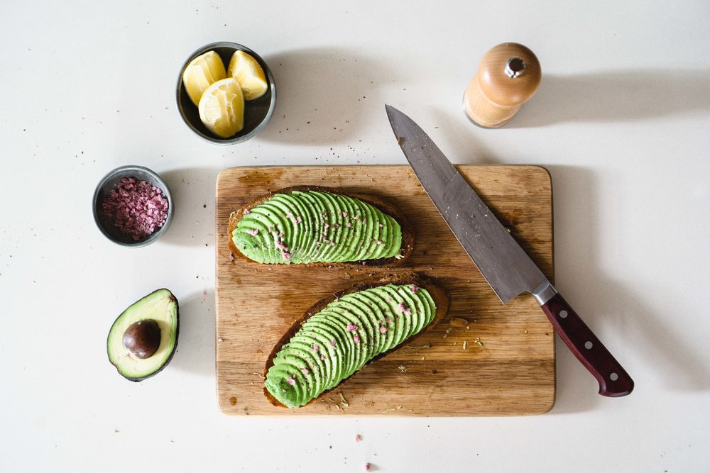 "Avocado Toast with ""Pink Salt"""