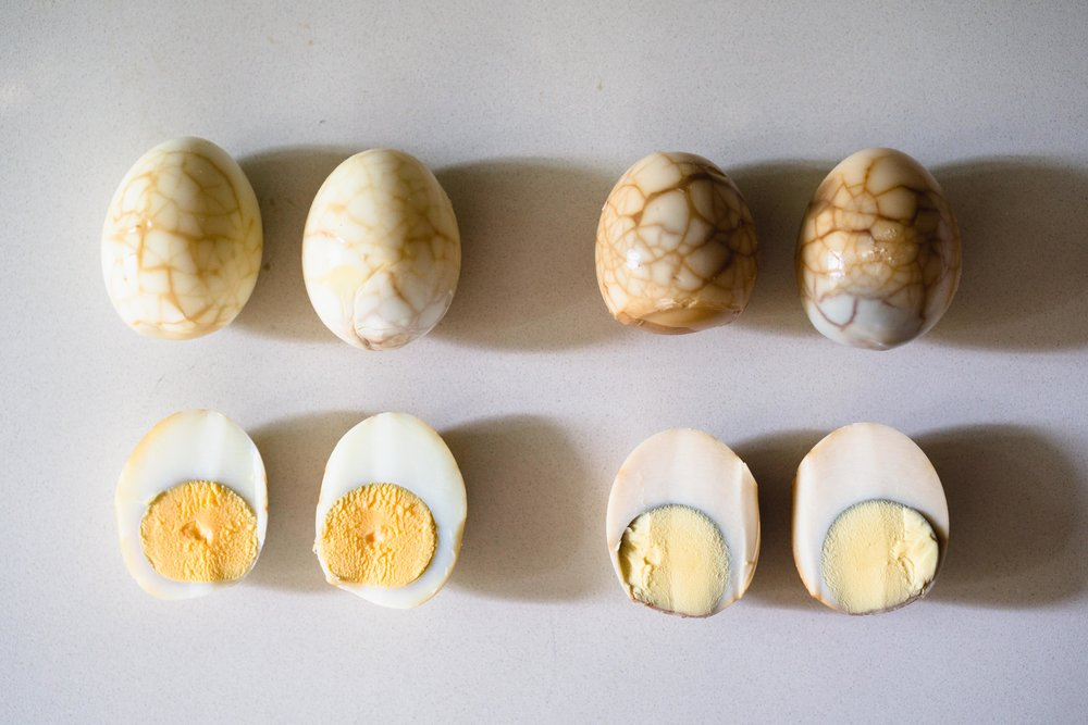 Chinese Herbal Tea Eggs (Traditional vs. Contemporary)