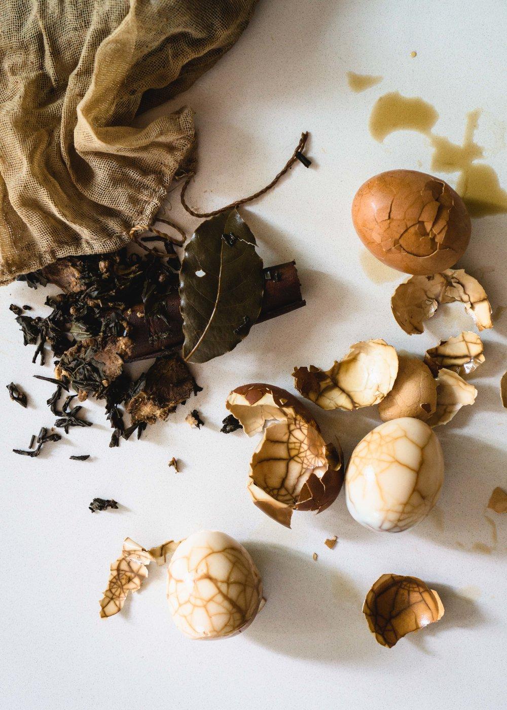Chinese Herbal Tea Eggs