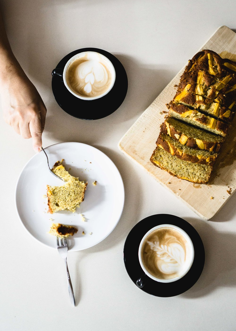 Jackfruit Cake & Coffee