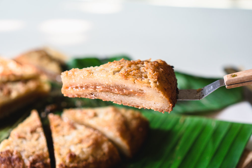 Bingka Ubi (Tapioca Cake)