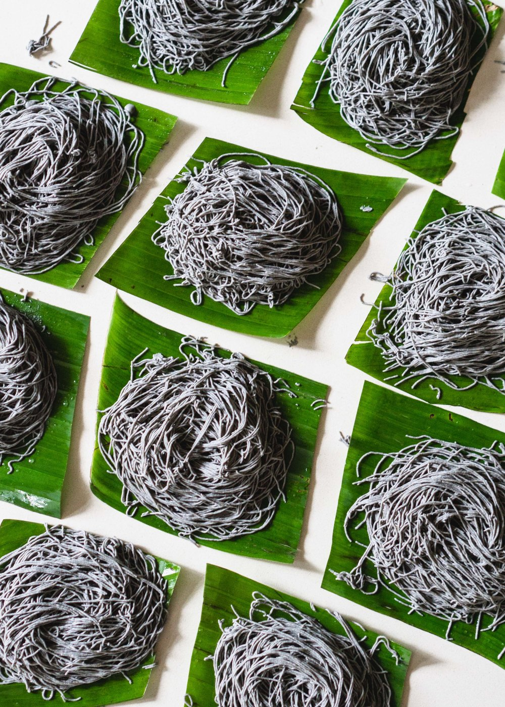 Black Sesame String Hoppers