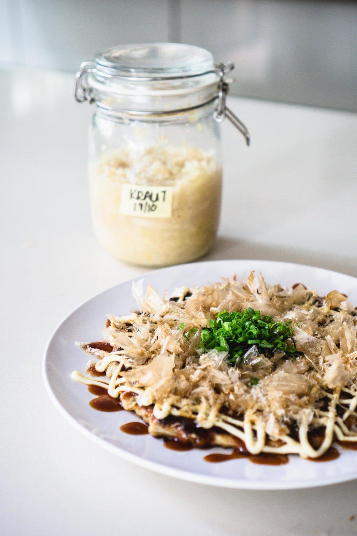 Kraut Okonomiyaki