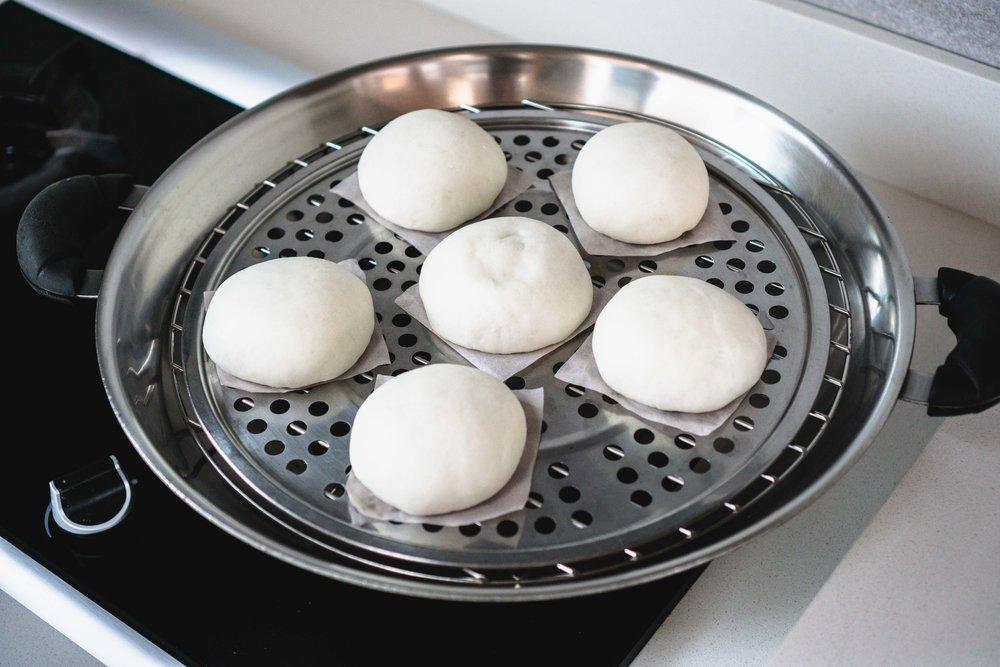Steaming Baos