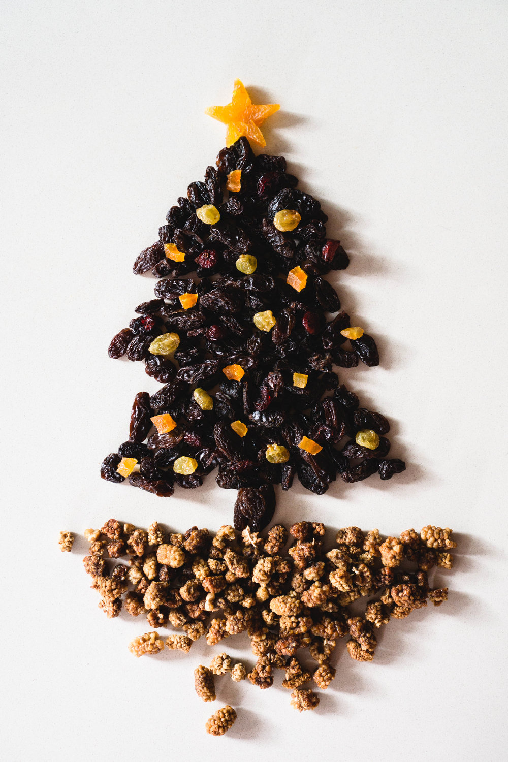 Dried Fruit Christmas Tree