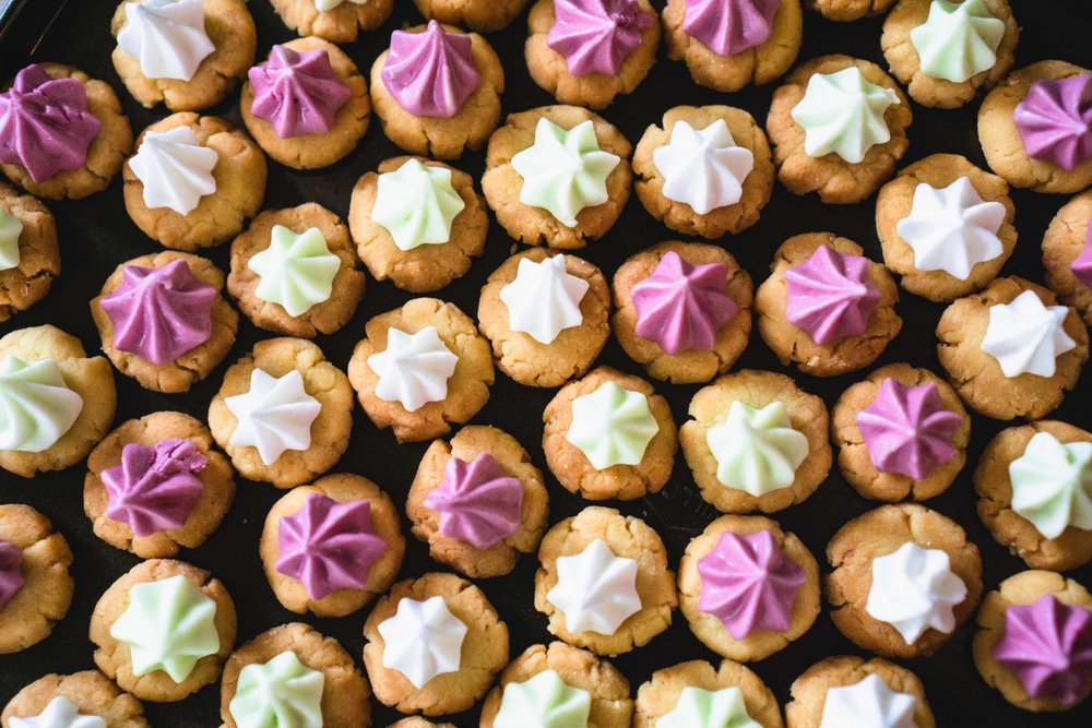 Iced Gem Biscuits