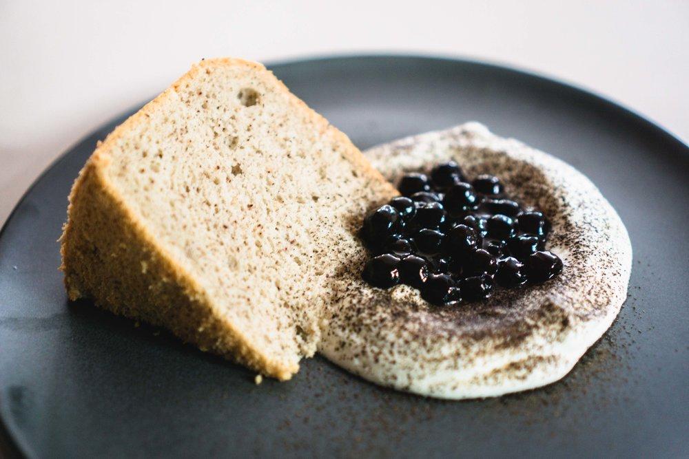 Boba Chiffon Cake