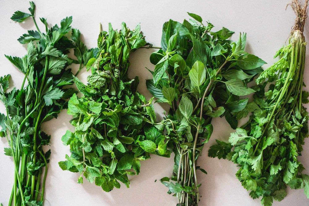 Lei-chazuke Vegetables