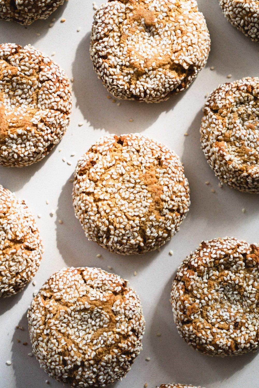 Sesame Miso Cookies