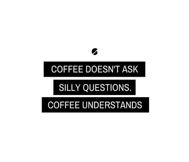 Reason number 487 why we love coffee 🖤 . . . #coffee #coffeequotes #coffee_inst #coffeeholic #coffee☕ #coffeedaily