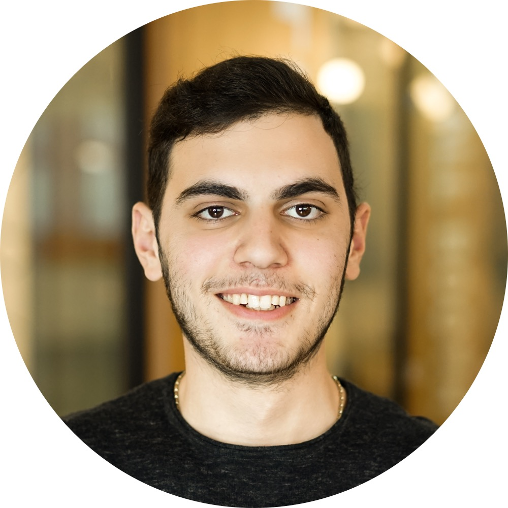 Narek T.   Loves everything about JavaScript and React.   Full-Stack JavaScript Developer