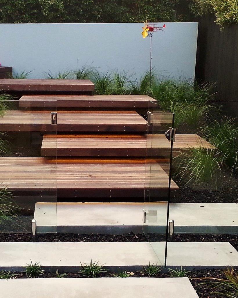 Floating Wood Steps Tacoma Washington