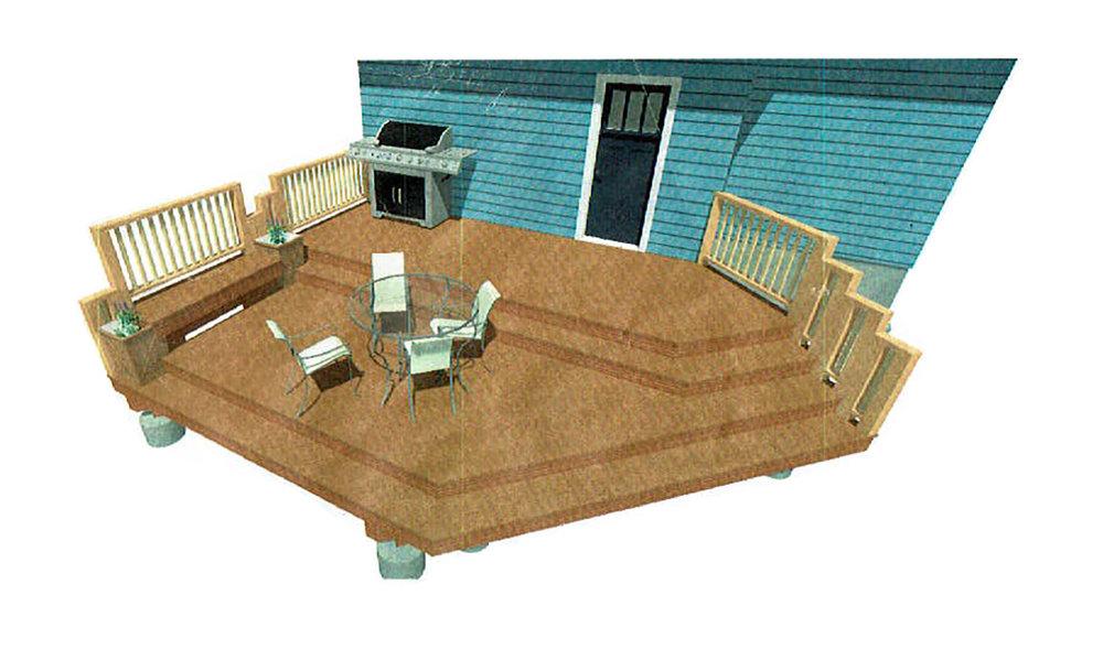 Tacoma Proctor District Deck Design