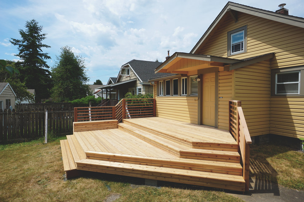 Tacoma Proctor District Deck Construction Company