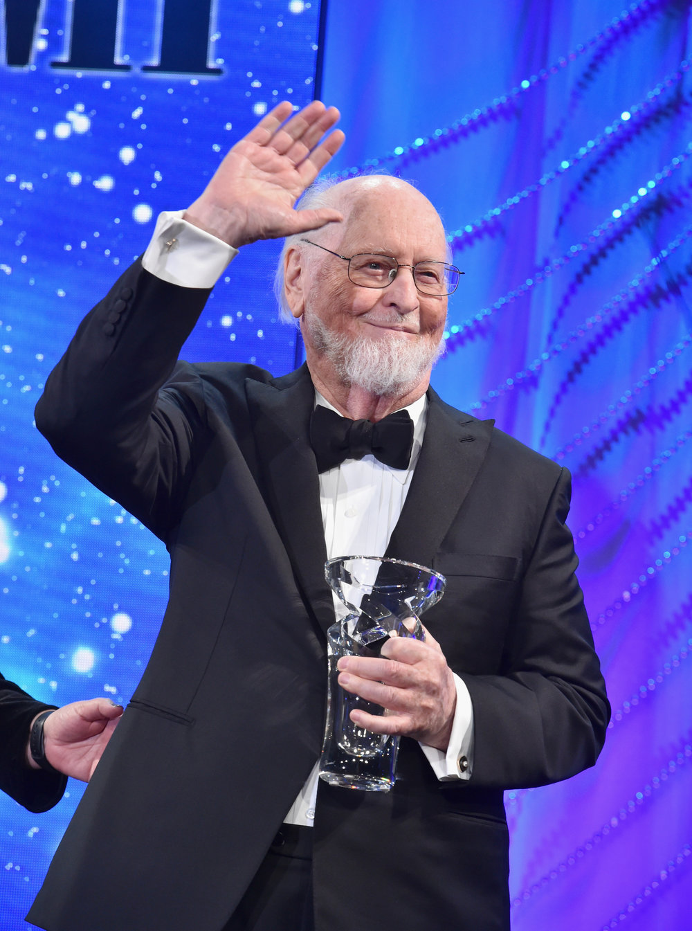 BEVERLY HILLS, CA - MAY 09:  John Williams accepts The John Williams Award onstage during 34th Annual BMI Film, TV & Visual Media Awards at Regent Beverly Wilshire Hotel on May 9, 2018 in Beverly Hills, California.  (Photo by Lester Cohen/Getty Images for BMI) *** Local Caption *** John Williams