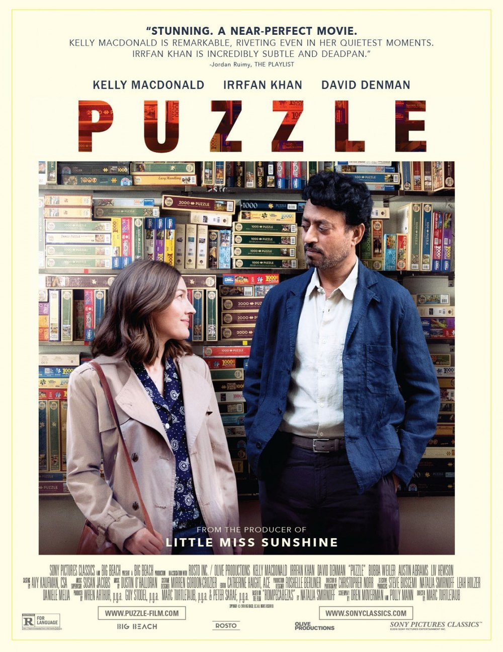 Pop Disciple Puzzle Marc Turtletaub Dustin O'Halloran Susan Jacobs