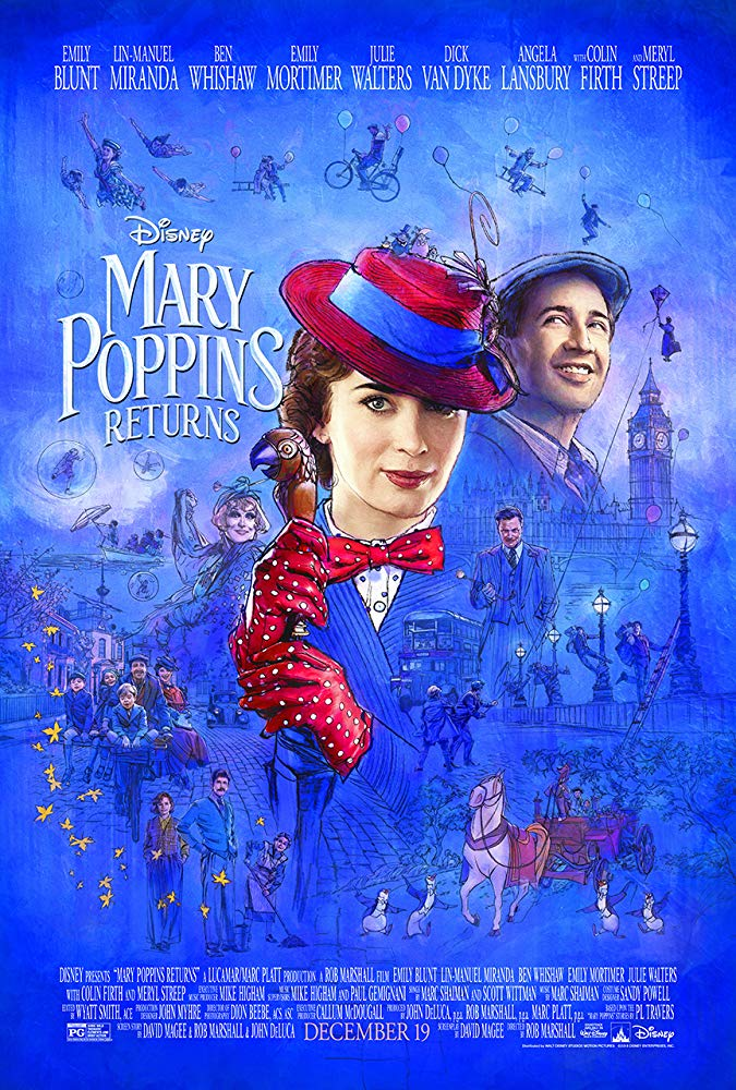 Pop Disciple Now Watching Music Supervision Film Music Soundtrack Composer Music Supervisor Mary Poppins Returns Rob Marshall Marc Shaiman Scott Wittman Gabe Hilfer