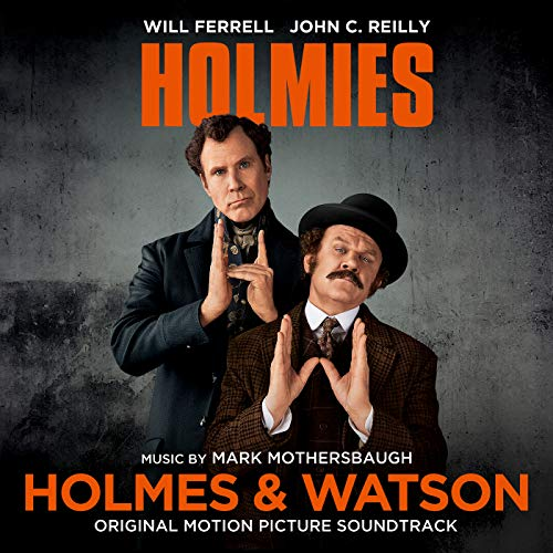 Pop Disciple PopDisciple Soundtrack OST Score Film Music New Releases Holmes & Watson Mark Mothersbaugh