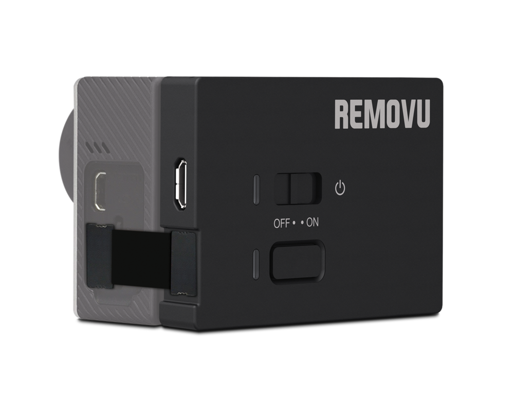 REMOVU A1 - The M1 records high quality sounds. It fits perfectly into a standard BackPac GoPro housing.