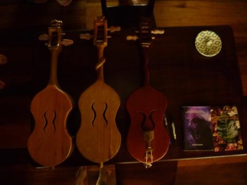 Каэр - двухструнная скрипка