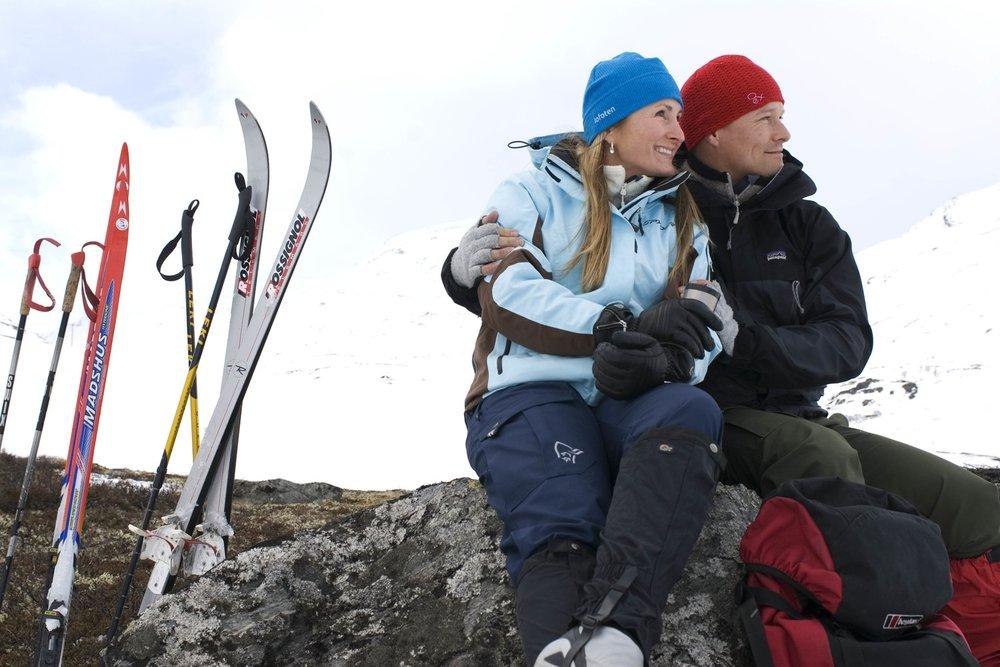Langrennsløyper - Spenn på deg langrennsskiene og ta turen til fjells.